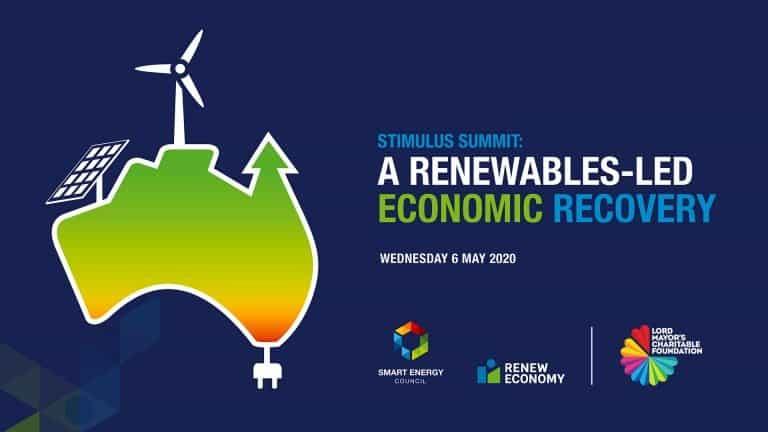 Stimulus Summit A Renewables Led Economy